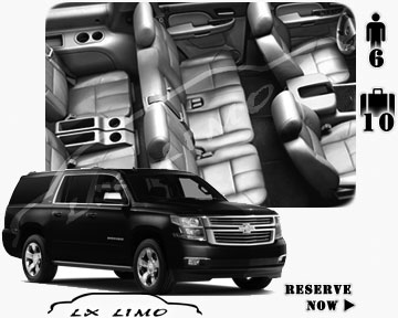 SUV Suburban for hire in Portland