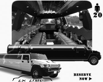 hummer H2 SUV Limousine in Portland, OR